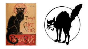 Chats noirs rebelles