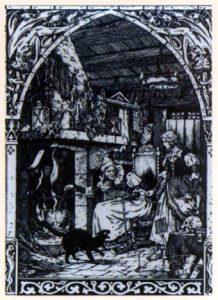 Chat noir et sorcellerie au Moyen-Age
