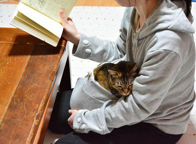 Câlin pendant lecture